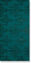 Ewall Petroleum Green Damask 8EDH