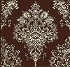 Paisley Decor Chocolate