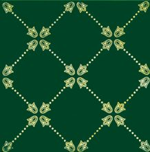 Paisley Net Decor Verde Botella