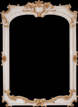 Louvre Mirror Bone Decor