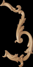 Louvre Curve Bone Decor