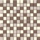 Мозаика MUW 456 Mosaico Mix Nut Brown Beige Coffee 30 x 30
