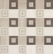 Rug Home Square Dark Dec. lap