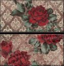 Декор Inserto Vintage Roses Old Chicago (комп/2шт) 10х20