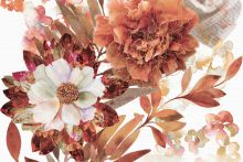 Composicion Savage Flowers Marron 02