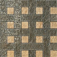 114344  Mosaico Chesterfield Nero-Beige