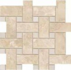 Мозаика G91424 White Basketweave 30x30