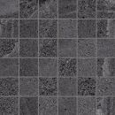 Мозаика Mosaico Quad. Single 3 Black 30х30