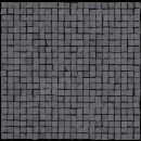 Мозаика Mosaico Opus Micro Single 3 Black Rett 30х30