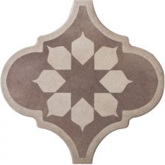21338 Curvytile Factory Blume Taupe
