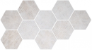 Плитка Hexagon Freeport White (9 Mix) 24x27.7