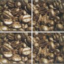 Декор Set Coffee Beans 01 (4pzs) 20х20