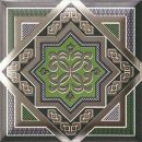 Плитка настенная Caprice HD Effects Zoco Green Decor 15x15
