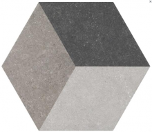 Traffic 3D Grey HEX 25
