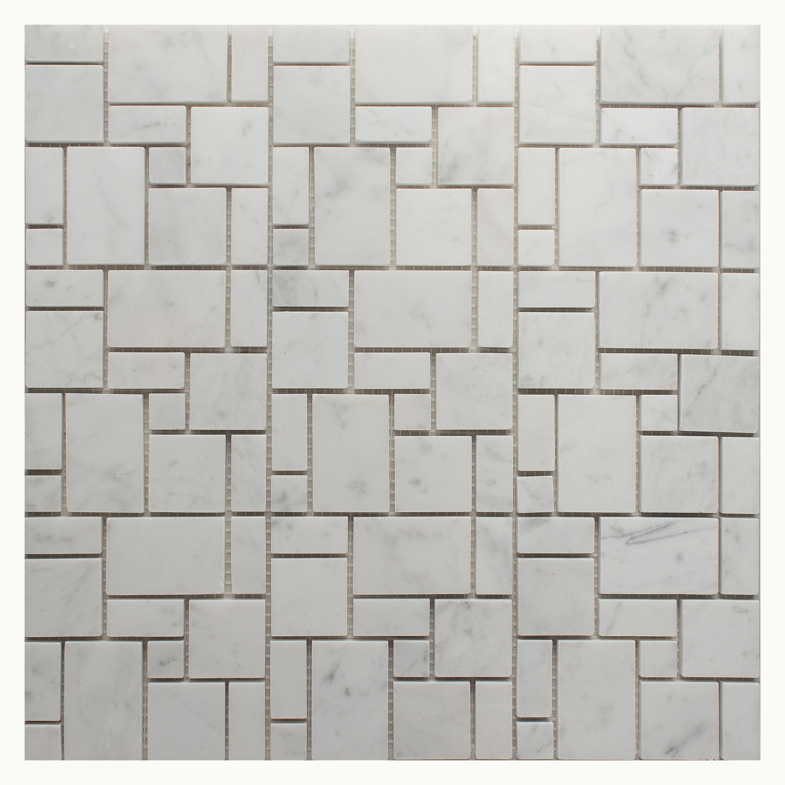Carrara White Carrera Marble Hexagon Mosaic Tile 3 inch