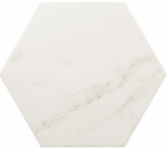 CARRARA HEXAGON MATT