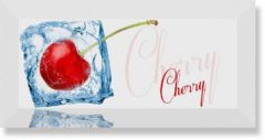 Decor Ice Cherry Декор вишня 10x20