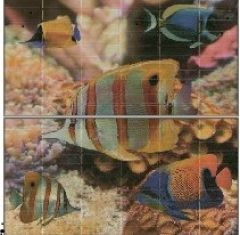 Панно Sunset Aquarium (панно из 2-х шт) 50*50